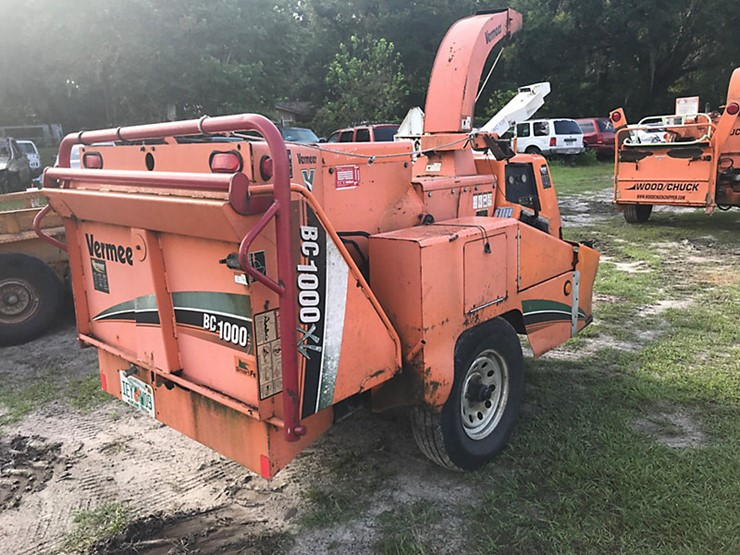 2008 Vermeer BC1000XL - Lot #47540, Online Only Equipment