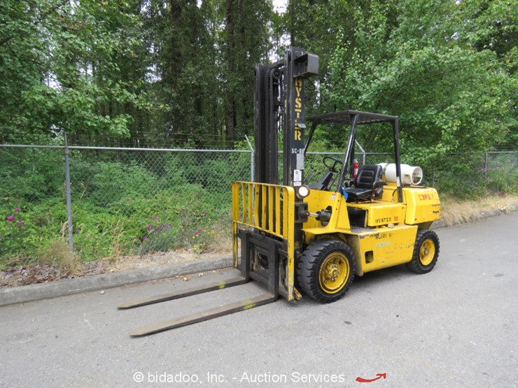 Hyster H80XL - Lot #, Online Only Equipment Auction, 7/26