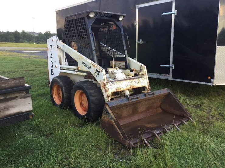 Bobcat 743b Lot 425 Equipment Auction 7282018 Johnny King