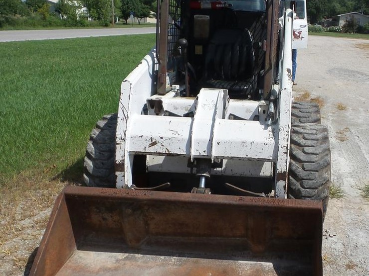 1995 Bobcat 853 - Lot #EI9856, Online Only Vehicle and