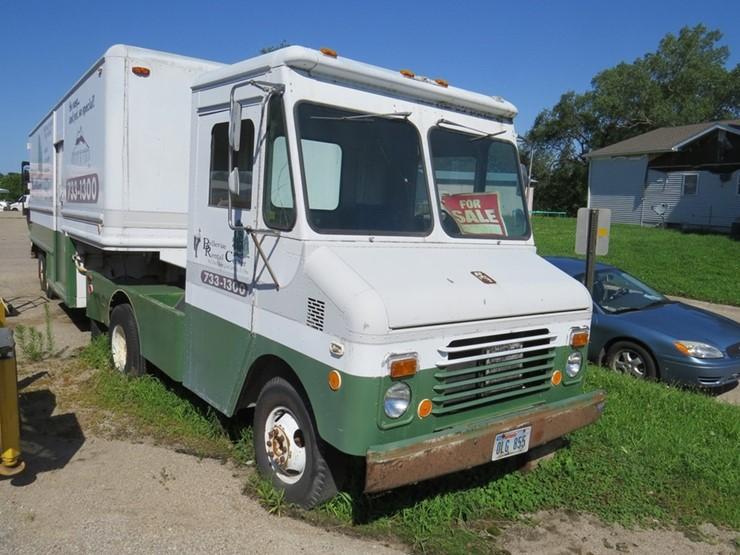 1984 Grumman Truck and Trailer - Lot #3, Equipment Auction, 8/3/2018