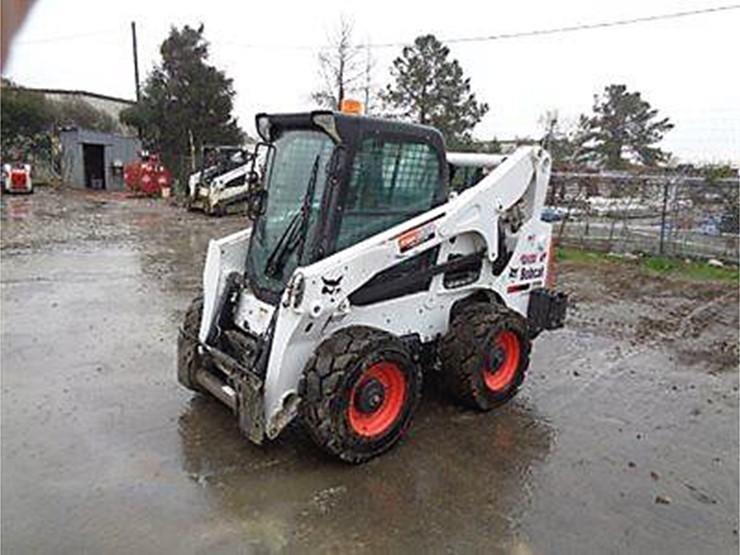 2015 Bobcat A770 - Lot #52426, Online Only Equipment Auction
