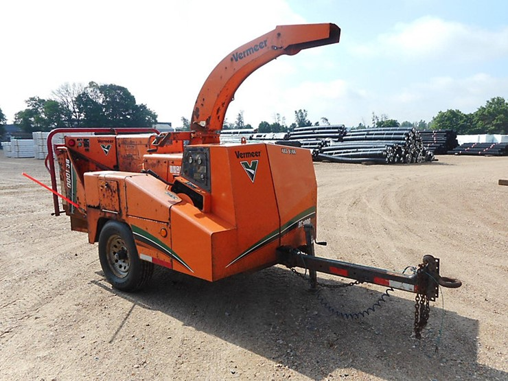 2008 Vermeer BC1000XL - Lot #37666, Online Only Equipment