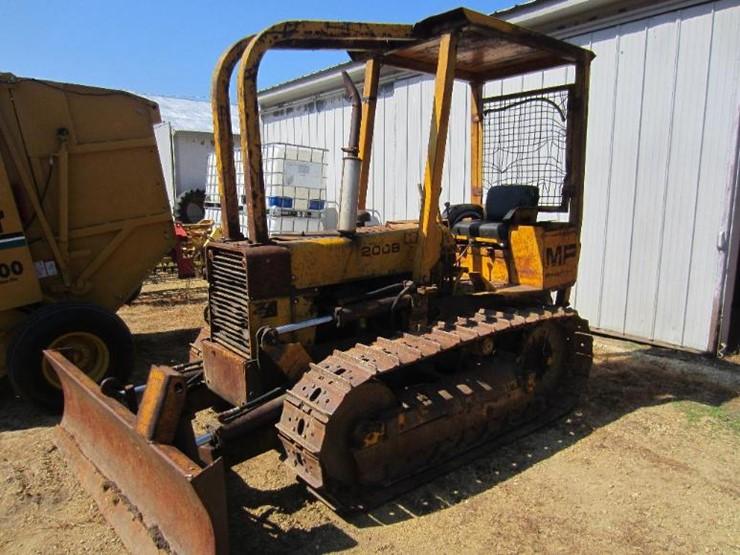 Massey-Ferguson 200B - Lot #19, Online Only Equipment Auction, 8/16 ...