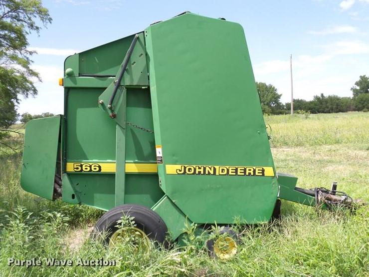 1997 John Deere 566 - Lot #DD8339, Online Only Ag Equipment Auction