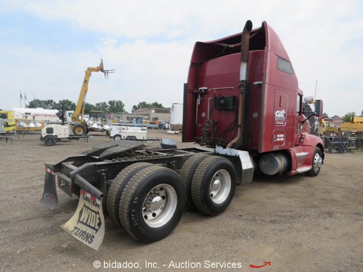 2009 Kenworth T600 - Lot #, Online Only Equipment Auction, 8