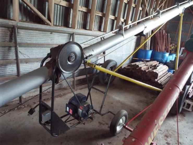 Westfield transfer auger w/electric motor - Lot #18, 8/22/18