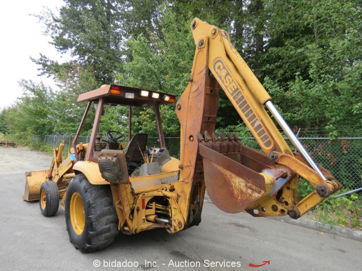 1991 Case 580K - Lot #, Online Only Equipment Auction, 8/23