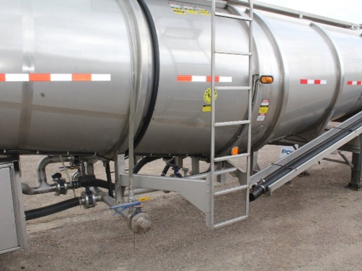 2014 POLAR STAINLESS STEEL 42' TANKER TRAILER, - Lot #50, Equipment