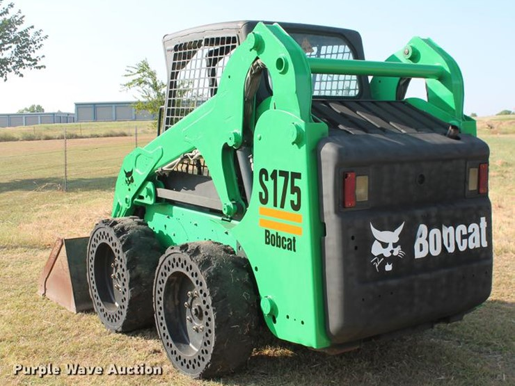 2011 Bobcat S175 - Lot #DD5255, Online Only Construction