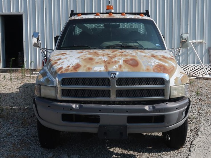 1996 Dodge Ram 3500 Lot Df2342 Online Only Construction