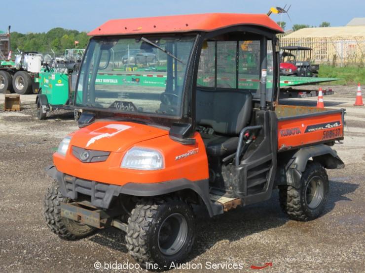 2012 Kubota RTV900 Lot Online Only Equipment Auction 9