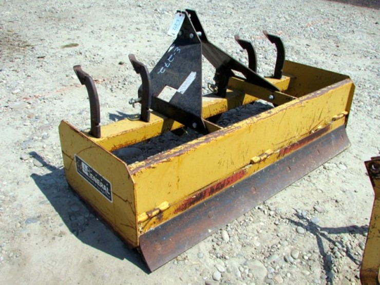 3-Point General Box Blade - Lot #E-272, ONLINE ONLY