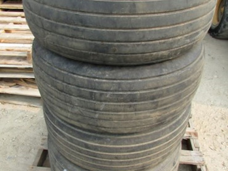 Multi Rib Implement Tires (4) - Lot #E-526, ONLINE ONLY
