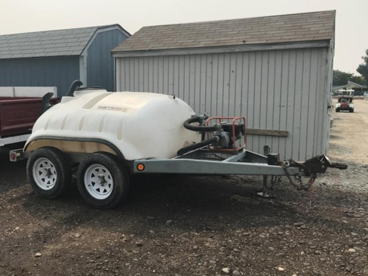 Water Boy 500 Gallon Spray Tank & Trailer - Lot #E-146