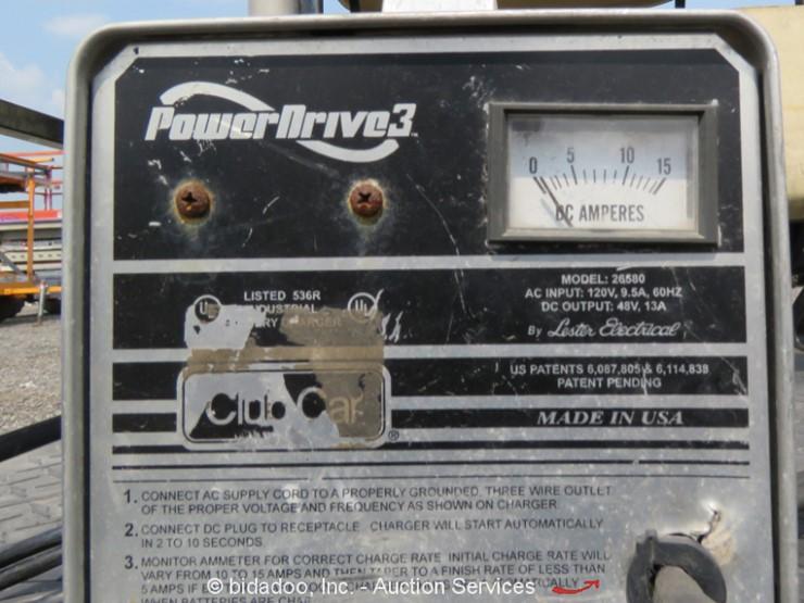 2010 club car precedent i2 excel lot online only equipment