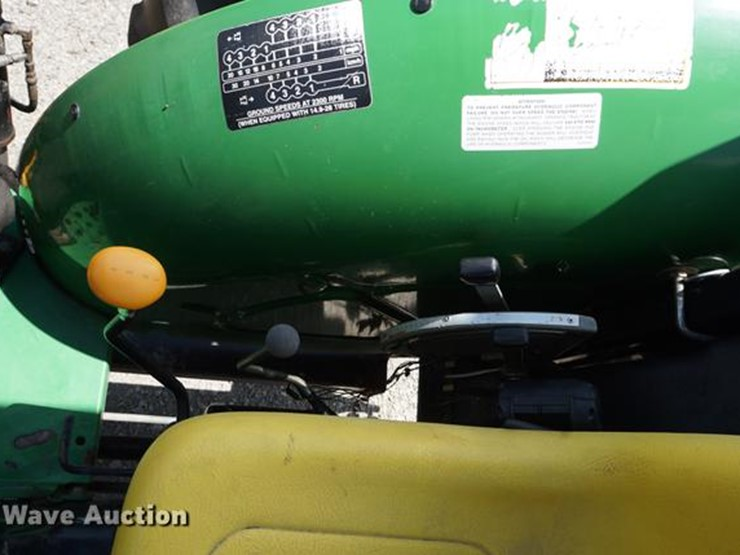 2005 John Deere 5205 - Lot #DD7866, Online Only Government Auction