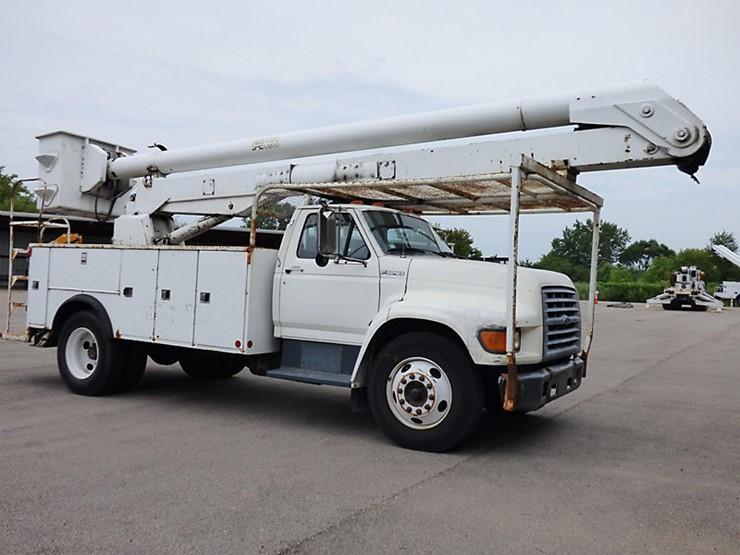 1998 Ford F800 - Lot #157071, Equipment Auction, 9/21/2018, J J