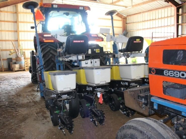 Kinze 4 Row 30 Test Plot Planter Yetter Row Lot 131 Farm