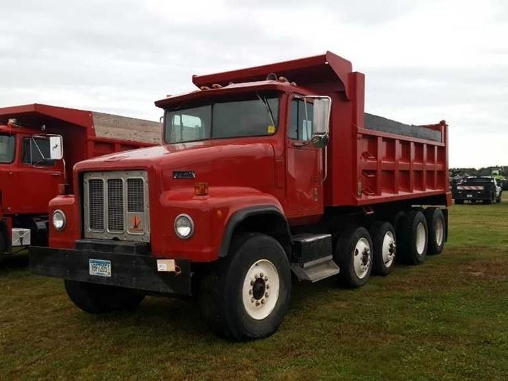 89 International Paystar Quad Axle Dump Truck