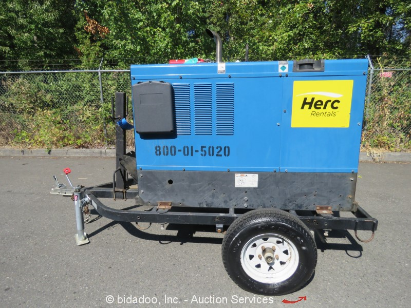2014 Miller BIG BLUE 400D - Lot #, Online Only Equipment Auction, 9 ...