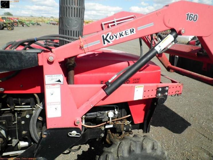 2004 Farm Pro 2430 - Lot #1909, Equipment Auction, 9/26/2018