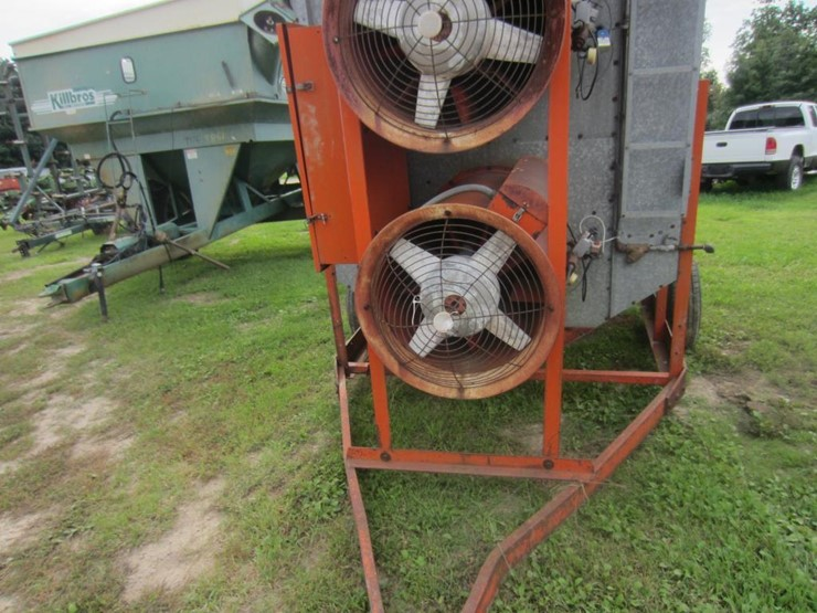 Farm Fans CMS 10-E Grain Dryer - Lot #33, Online Only ... Farm Fans Grain Dryers Wiring Diagram on