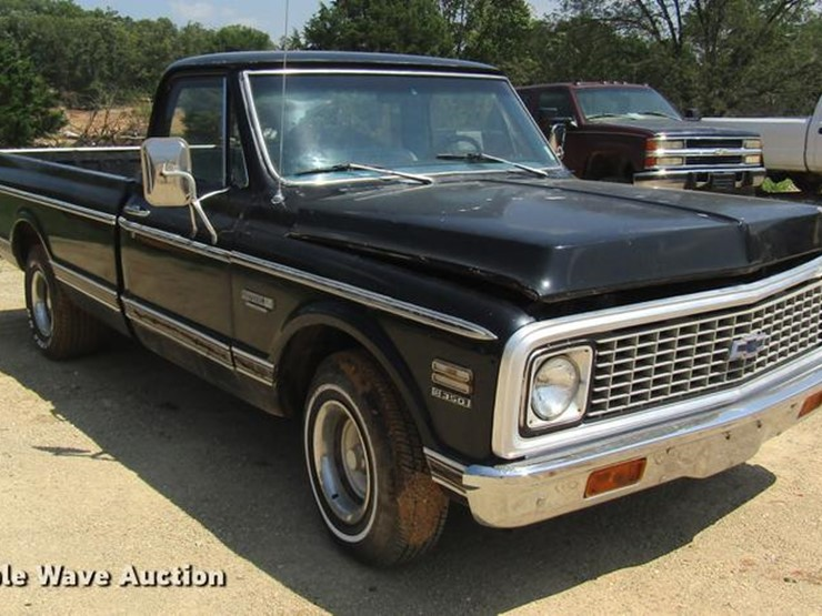 1972 Chevrolet C10 - Lot #DE5184, Online Only Vehicle and