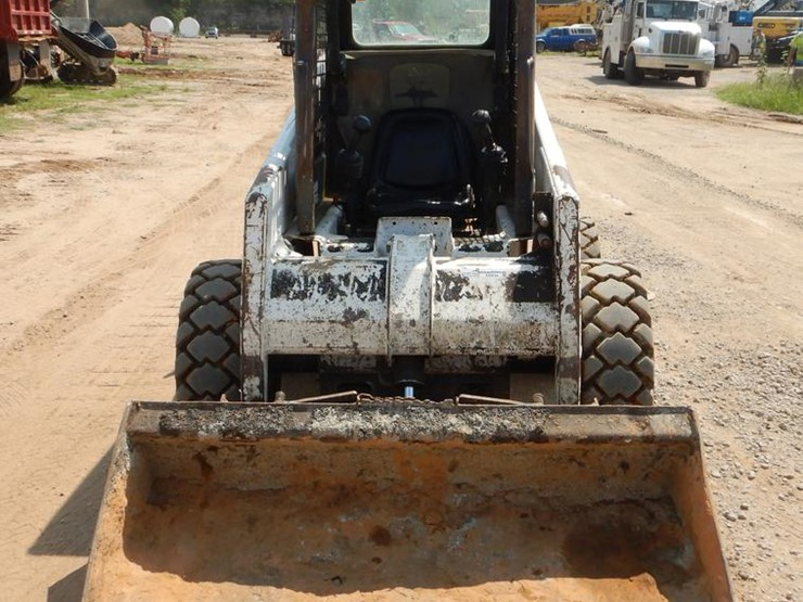 2002 Bobcat 763 Lot Ek9744 Online Only Construction Equipment