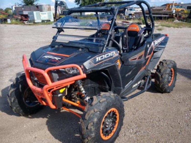 2014 Polaris RZR XP 1000 - Lot #190, Online Only Equipment