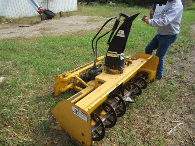 Bobcat Snow Blower - Lot #175, Online Only Equipment Auction, 9/25