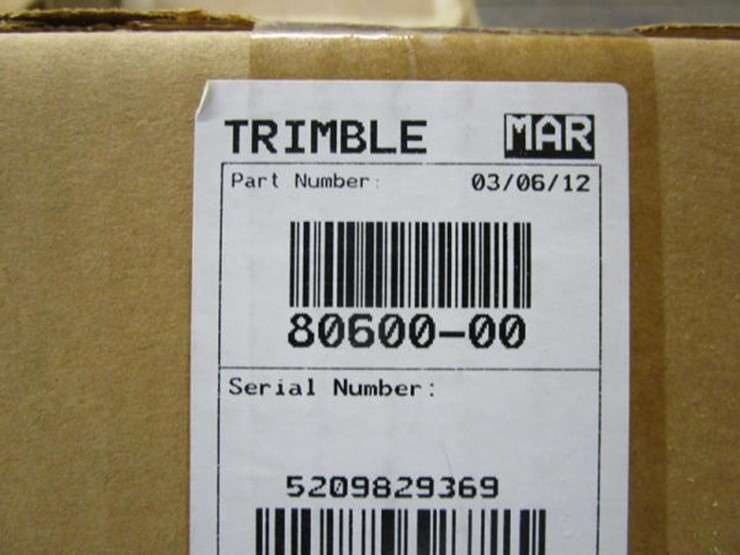Trimble Field IQ switchbox kit - Lot #356, Online Only Equipment