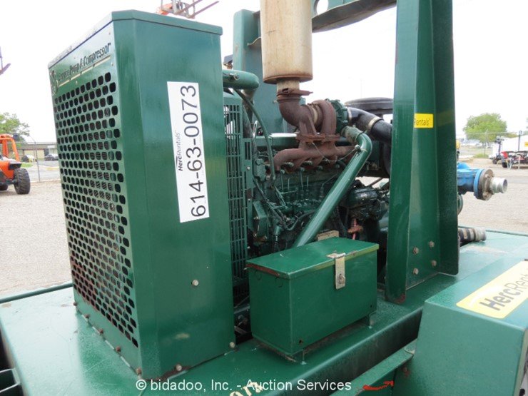2011 CORNELL 3HC-6068 - Lot #, Online Only Equipment Auction