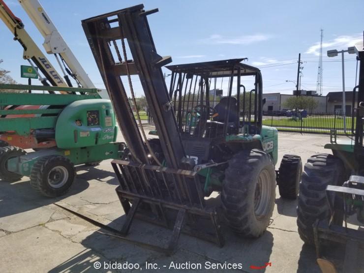 2014 Jcb 930 Lot Online Only Equipment Auction 10 25