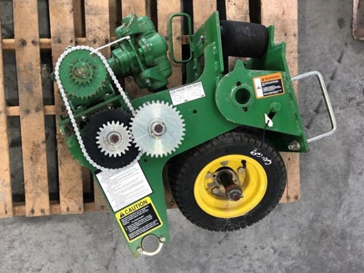 John Deere Ground Driven Fertilizer Pump Lot 185 Online Only