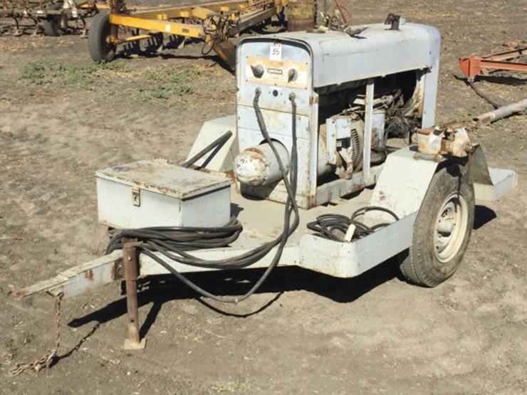 Lincoln SA200 - Lot #35, Farm & Construction Equipment