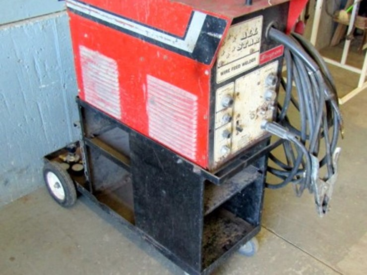 Snap-On Wire Feed Welder - Lot #Z-752, Online Only Farm & Equipment