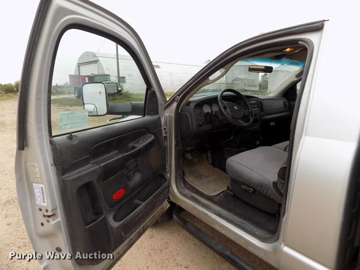 2004 Dodge Ram 3500 - Lot #DB9097, Online Only Ag Equipment Auction
