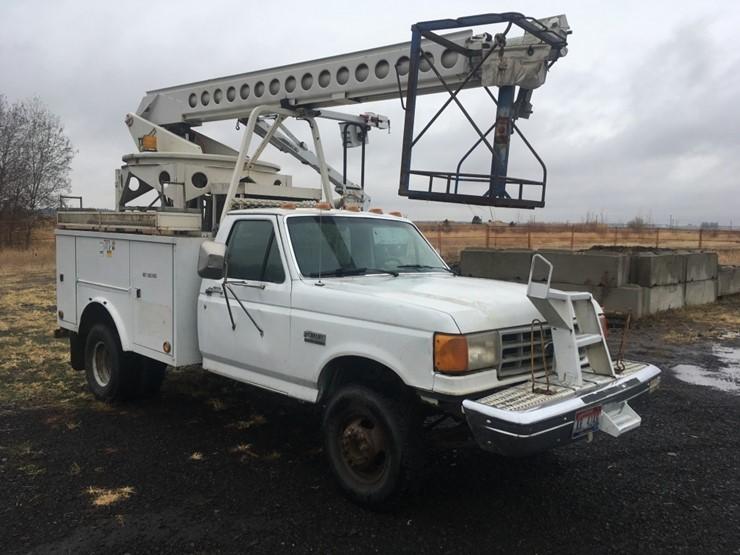 1990 Ford F Super Duty Bucket Truck - Lot #TEMP4902, Heavy