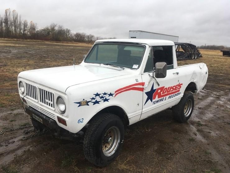 1973 International Scout II 4x4 Pickup - Lot #TEMP6506