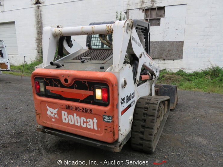 2013 Bobcat T650 - Lot #, Online Only Equipment Auction, 11