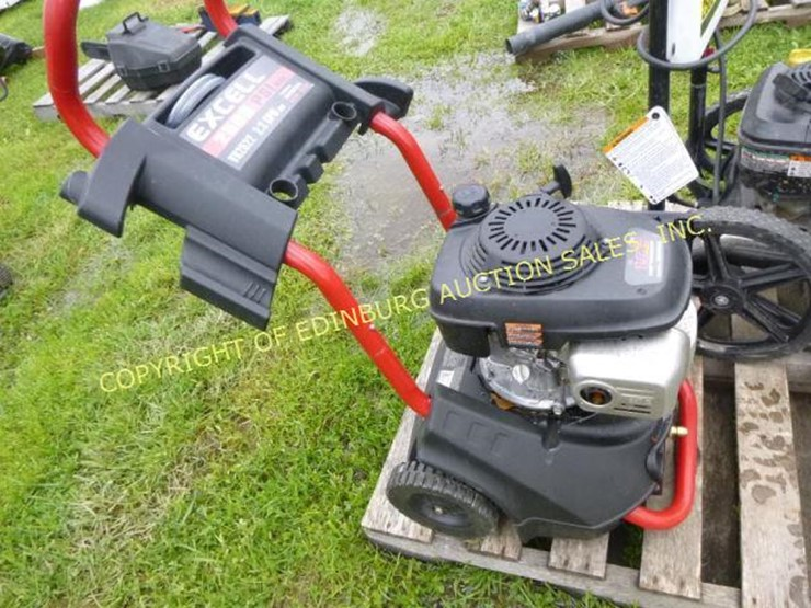 excell pressure washer lot 4095 equipment auction 11 17 2018