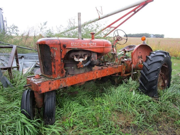 where to find serial number on allis chalmers