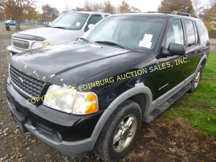 2002 Ford Explorer Xlt Edinburg Auction Sales Inc Lot 1118