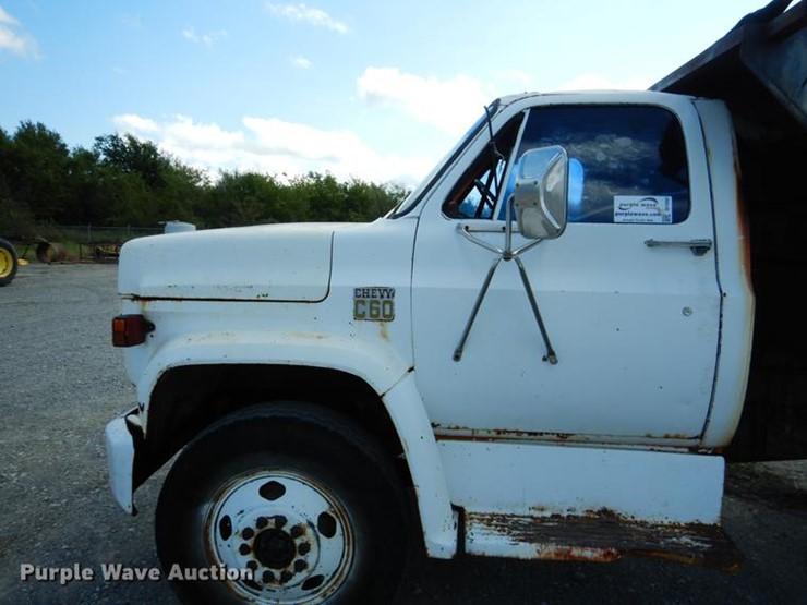 Chevrolet C60 - Lot #DF2002, Online Only Construction Equipment