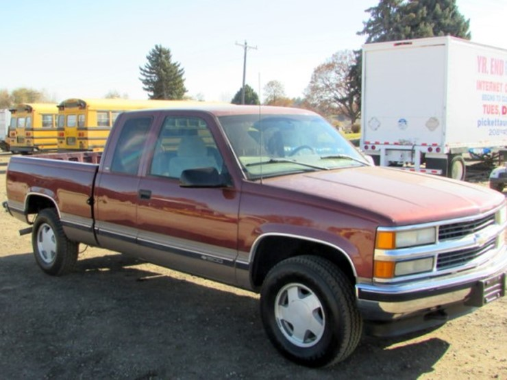 1998 chevrolet truck transmission
