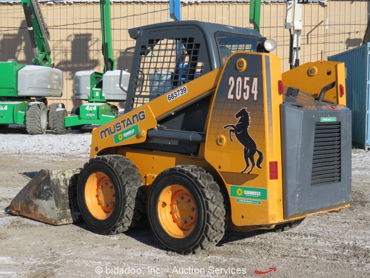 2014 Mustang 2054 - Lot #, Online Only Equipment Auction, 12
