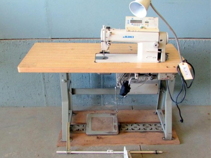 Juki Commercial Sewing Machine Pickett Auction Service Lot X Enchanting Juki Commercial Sewing Machine