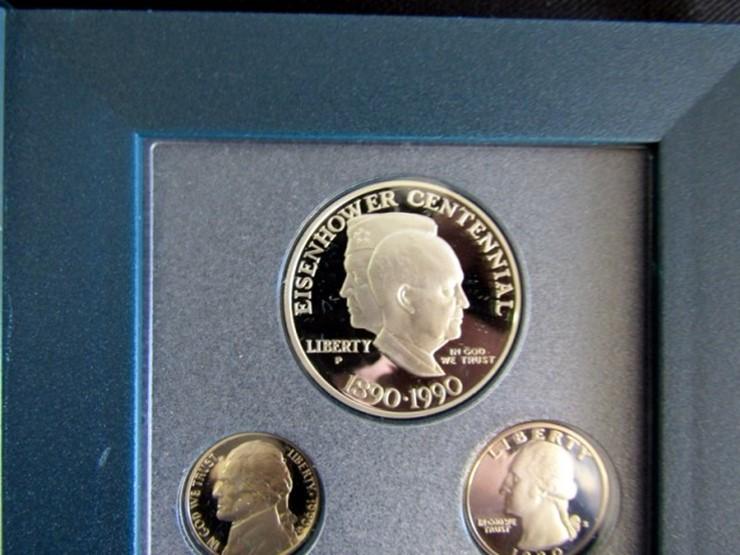 1990 U S  Prestige Mint Coin Set   Pickett Auction Service