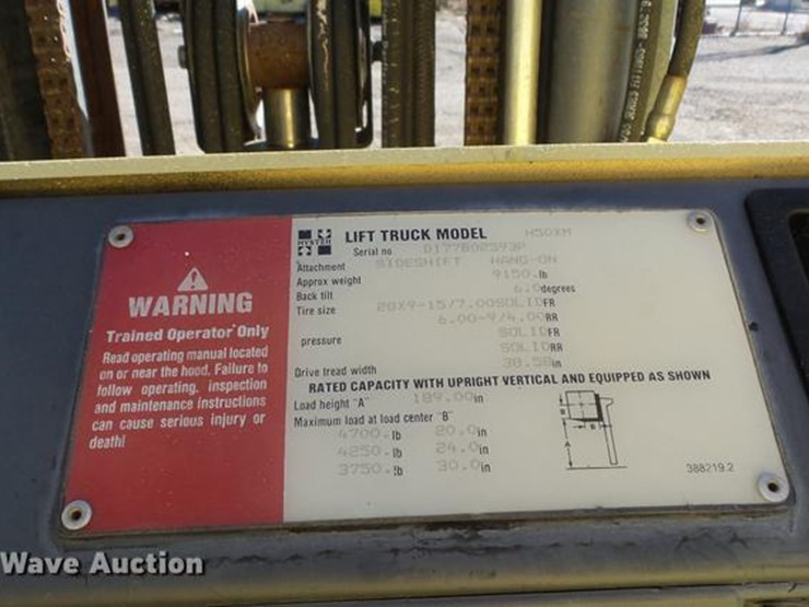 hyster h50xm manual